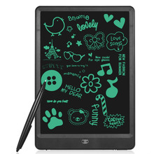 "10inch 10"" Digital Drawing tablet Touch Pad Board Digital LCD Writing Tablets One-key lock with Pen Battery LED Fidget Spinner(China)"