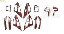 Yandex HighQuality mahogany cherry wood interior trim special modified car parts accessories for Toyota Camry 04-11(China)