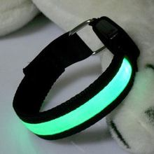 LED Arm bands Lighting Armbands Leg Safety Bands for Cycling/Skating/Party/Shooting 4 Colors Portable(China)
