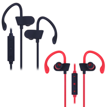 Wireless Bluetooth 4.0 Sports Earphone Stereo Earbuds Headset Neckband Sports Headphone for A2DP AVRCP HSP HFP for Smartphone(China)