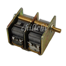 Stock new CBL-2*365PF dual variable capacitor ore radio