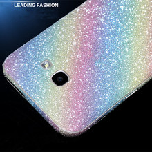 Bling Glitter Shiny Crystal Diamond Full Body Wrap Decal Film Sticker For Samsung Galaxy A310/A510/A710/A910 /A320/A520/A720