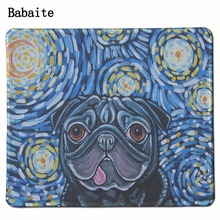 2017 Mousepad Tapis De Souris Stock Discount Retail Hot Sell New Size Aming Necessary Mouse Mat Pat Dog Non-skid Rubber Pad