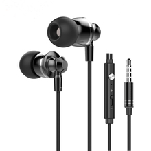 Hot Sale M300 Volume Control Earphones Bass Headset Stereo Earphones with Microphone for Phone Computer Free Shipping