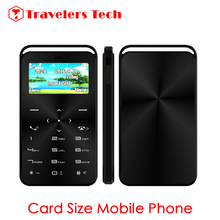 Ultra Thin Small Size Card Mobile Phone DAXIAN GS6 1.69Inch Tiny Screen 600mAh Bluetooth Dialor Magic Voice Function PK M5 E1