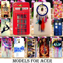 Soft TPU Painted Cases For Acer Liquid E700 Zest Z525 Z528 Z330 Z320 M330 Z520 Z630 z500 Z530 Cover Dreamcatcher Telephone Booth