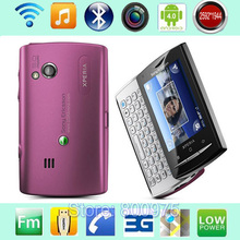 U20 u20i Original Sony Ericsson Xperia X10 mini pro Mobile Phone Unlocked 3G Wifi GPS 5MP Android Smartphone & Pink