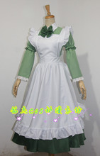 2016 Anime APH Axis Powers Hetalia Hungary Maid Apron Cosplay Costume