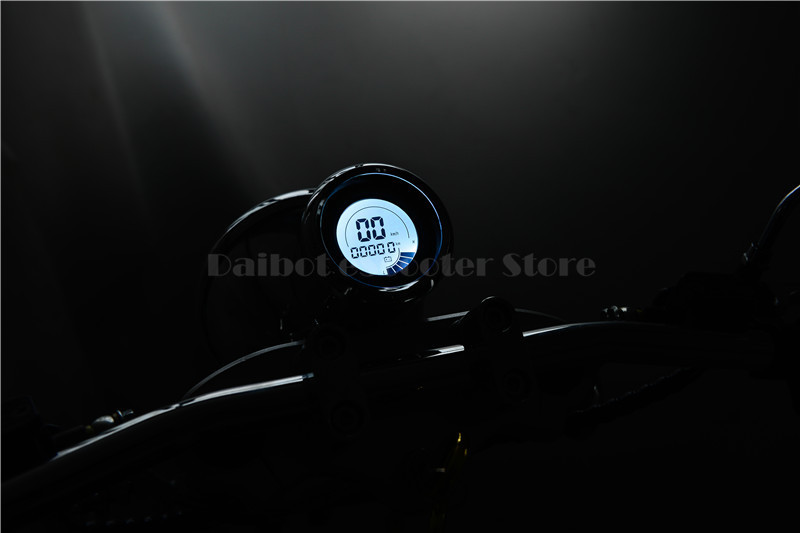Daibot Electric Scooter Harley Citycoco Two Wheels Electric Scooter 60V 1500W Electric Scooter Motorcycle For Adults (13)