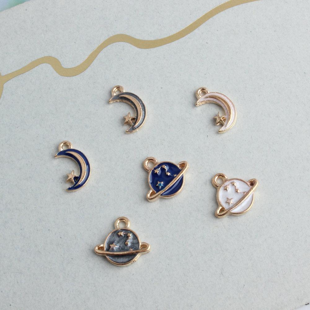 Sailor Mars Enamel Charms DIY Jewelry Making 10pcs