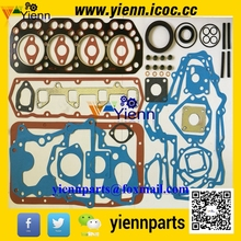 Mitsubishii K4M Overhual gasket kit 34494-00055 with head gasket MM438680 for Mitsubishi Tractors K4M diesel engine repair parts