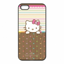 Beautiful Hello Kitty cell phone bags case cover for iphone 4S 5S 5C SE 6S 7 PLUS Samsung S3 S4 S5 S6 S7 note 2 3 IPOD Touch 4 5