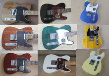 Free shipping  telecaster Electric guitar  have more style you can choose more picture