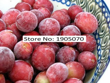 Lowest Price!!! Free shipping, Senior Courtyard Plants , Delicious Fruit seeds , Gold red giant 50pcs Grape Seeds(China)