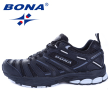 BONA New Arrival Hot Style Men Running Shoes Outdoor Walking Trekking Sneakers Comfortable Athletic Shoes Light Free Shipping