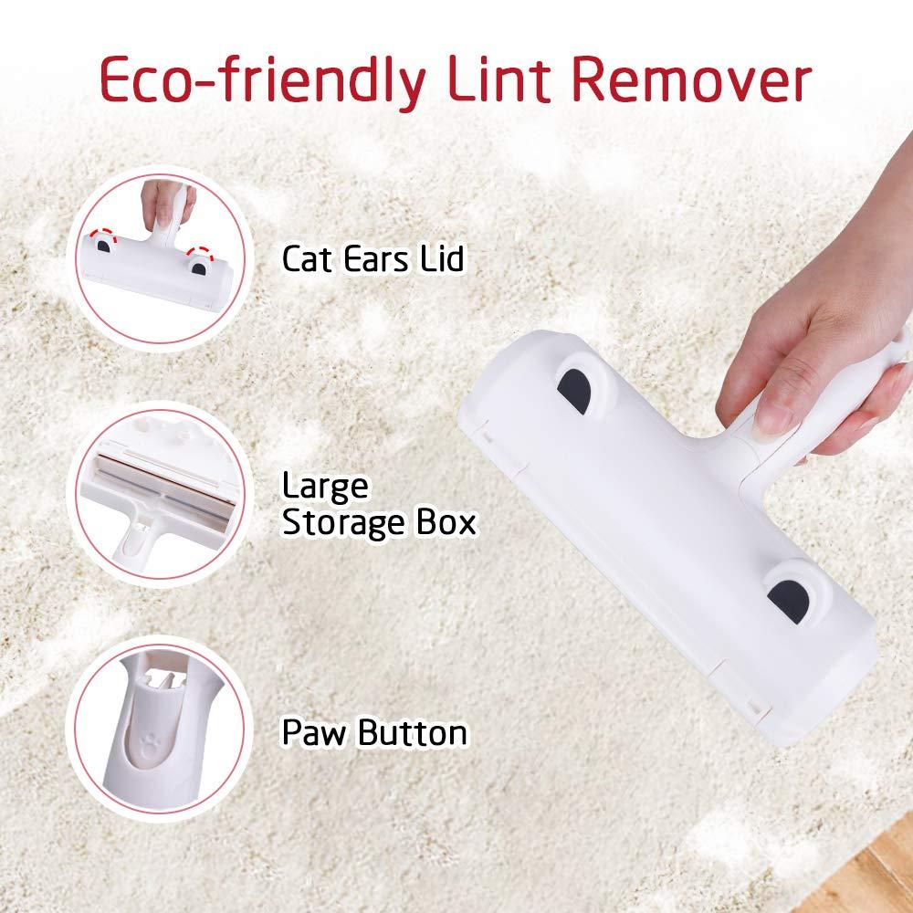 Phone - Pet Hair Hair Remover Roller Dog Cat Hair Furniture lint remover magic Brush reusable Device
