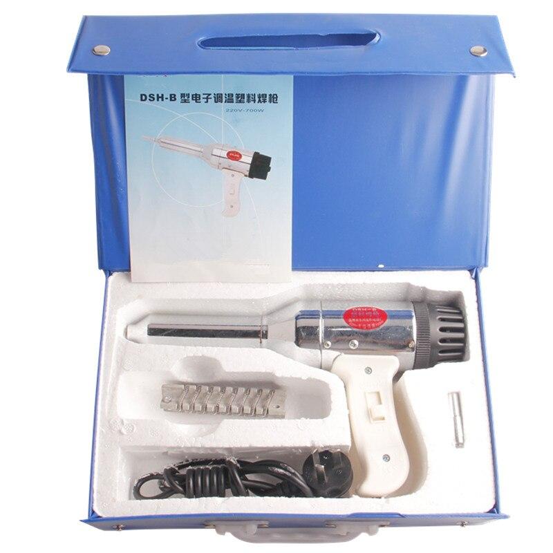Welding PVC Hot Air Plastic Welder Torch Auto Parts Supply PP Plastic Hot Air Gun 700W Ferramentas Manuais<br>
