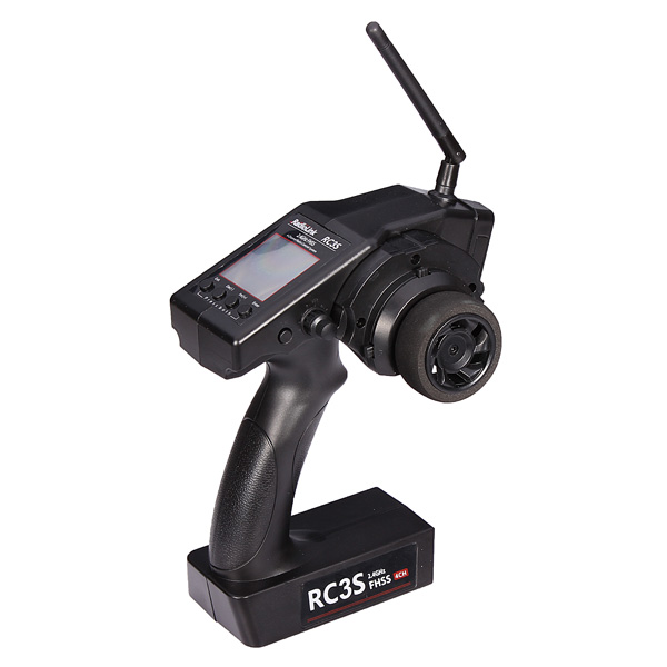 Hot Sale High Quality Radiolink 2.4G 4CH RC3S Transmitter With LCD Display Screen For Rc Car Boat<br>