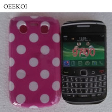 OEEKOI Polka Dots Pouch Cover Case for Blackberry 9700 Phone Bags Free(China)