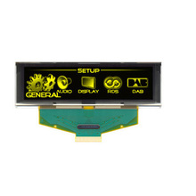 3.12 inch Yellow OLED LCD Screen 256X64 OLED LCD LED Display Module with SSD1322 Drive IC for Arduino