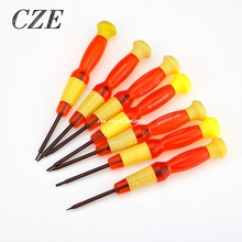 1Pc Multi-function Apple Mobile Phone Repair Disassemble Tool Manual Cross Word Star Screwdriver Screwdriver