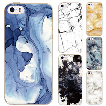 2016 Special Offer Phone Cases For iPhone SE 5 5s 5C Case Marble Stone Image Painted Cover Mobile Bags New Screen Protector