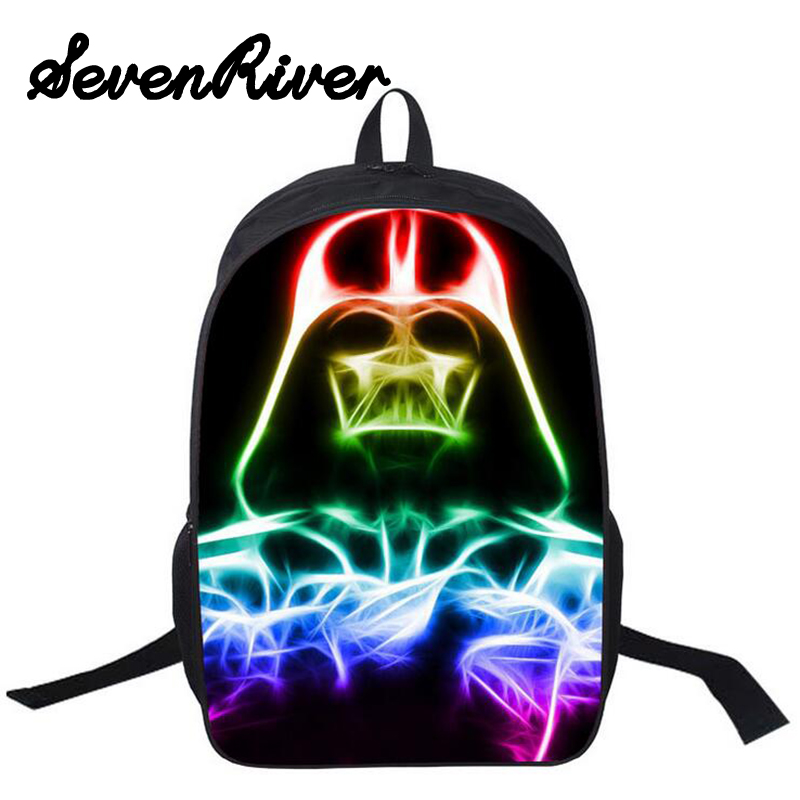 16-Inch Students Cartoon Anime School Book Bag Star Wars Backpack For  Boys Girls Teenagers Shoulder Bags<br><br>Aliexpress