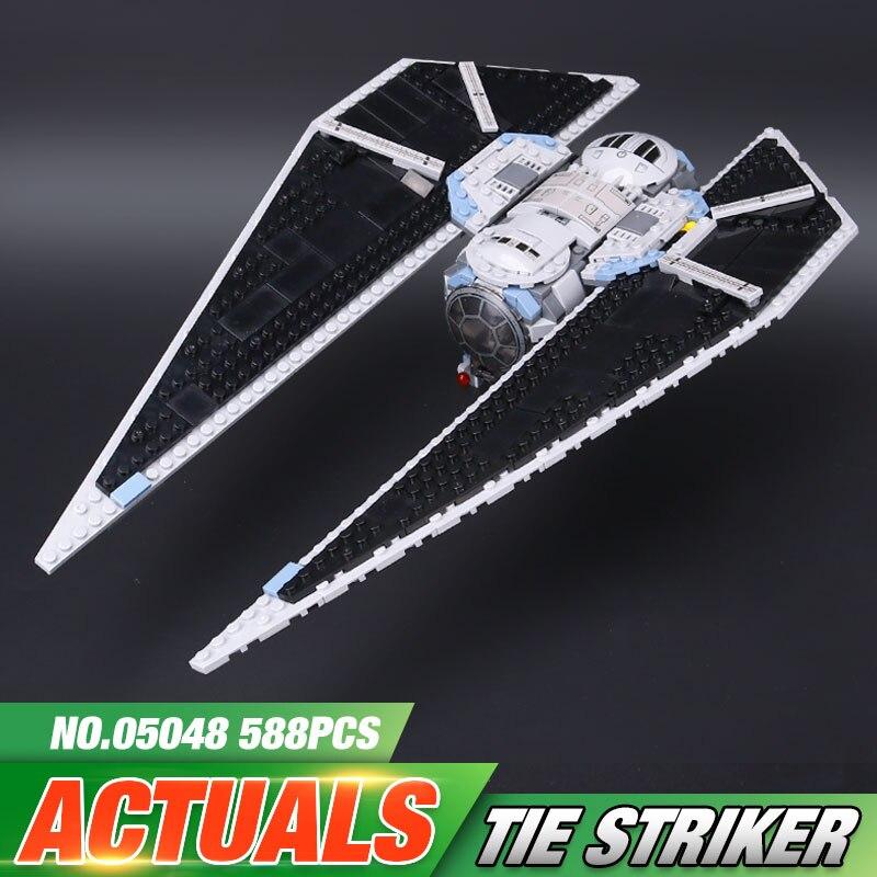 Lepin 05048 543Pcs Star Seiers The TIE set Striker Set 75154 Educational Building Blocks Bricks War Toys Model as Christmas Gift<br>