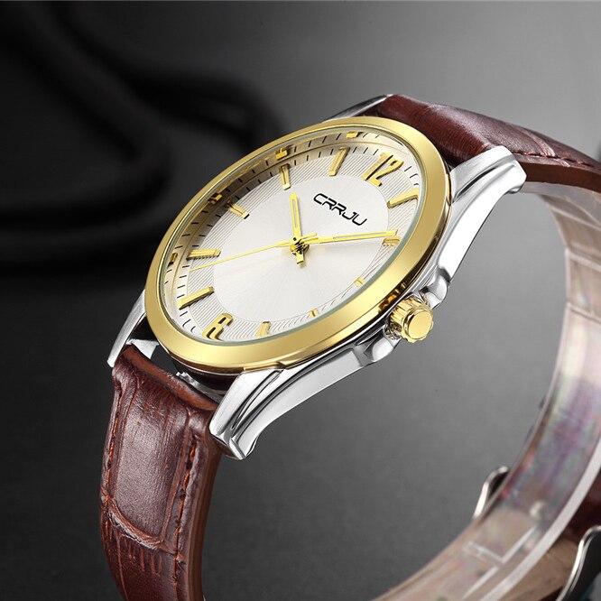 Top Brand Men Watch Ultra Thin Waterproof Quartz Analog Clock Man Leather Wristwatch Men Casual Sports Watches quartz-watch<br><br>Aliexpress