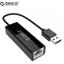 ORICO UTJ USB 3.0 Gigabit Ethernet Adapter USB to RJ45 lan Network Card for Windows 10 8 8.1 7 XP Mac OS laptop PC
