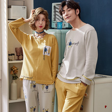 8e433a7579 new arrival pajamas cotton christmas clothes couple sleepwear full sleeves  nightgowns bottoms matching couple pajamas pijama
