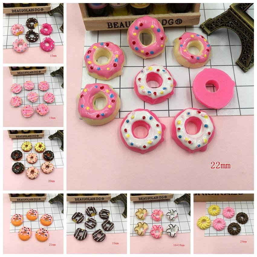 5 Pcs Realistic Lollipops Lollypops So Cute Mixed Colours Decoden Craft DIY NEW