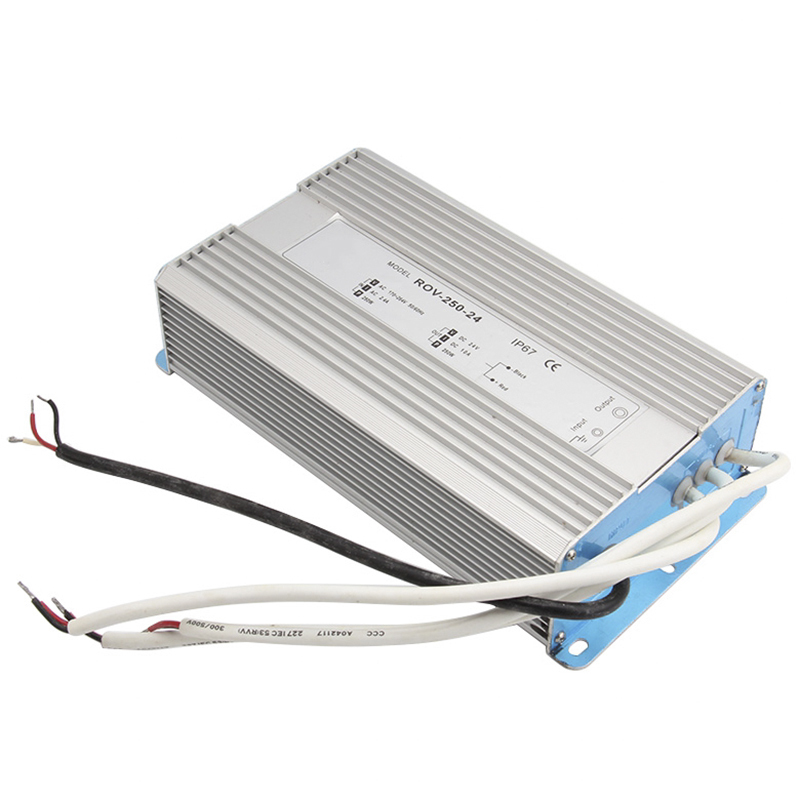AC 170-260V To DC 12V-48V 250W Led Driver Transformer Waterproof Switching Power Supply Adapter,IP67 Waterproof Outdoor Strip<br>