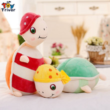 Cute plush tortoise turtle toys stuffed Animal Toy doll baby children kids boy girl birthday gift home shop decor Triver(China)
