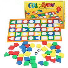 Children's educational toys Improve memory training Colour shape Cognitive Toys(China)