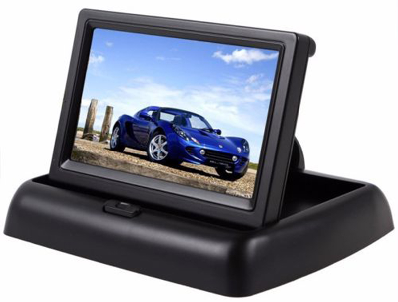 4.3 Inch Foldable Rearview Car Monitor Screen for Rear View Camera (13)