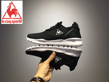 2017 Summer Breathable And Comfortable Le Coq Sportif Men's Running Shoes Sneakers Men's Sports Shoes Black/White Color 4