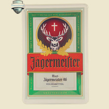 Vintage Home Decoration Tin Metal Painting Jagermeister Wall Stickers Decor Iron Retro Tin Metal Signs Plaques Neon Beer Signs