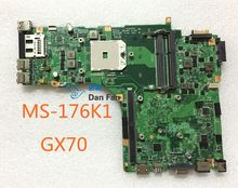 For MSI GX70 Laptop Motherboard MS-176K1 VER:0A Mainboard 100%tested fully work