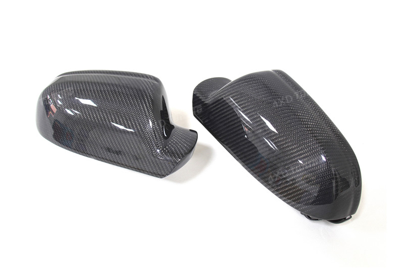 for Audi A4 B8.5 A5 S5 RS5 Carbon Fiber Mirror Cover Rear View Without Lane Assit 2010 2011 2012 2013 2014 2015 (9)