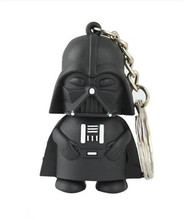 Wholesale Star Wars the White Knight Vader Memory USB Flash Drive/U Disk/creative Pendrive/Memory Stick/Disk/Thumb/Gift S105