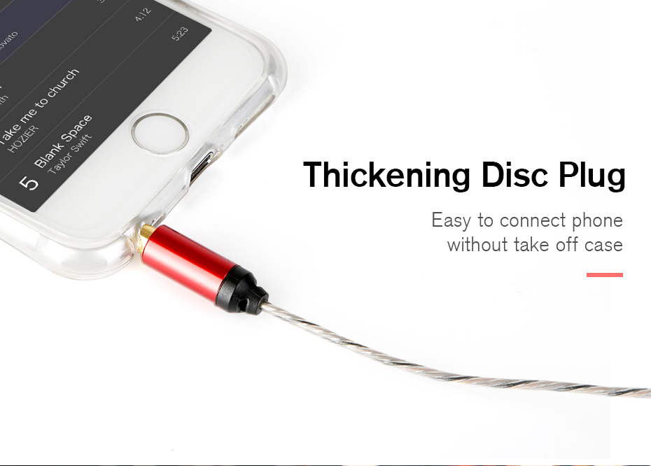 Soundking aux cable jack 3.5mm to jack 3.5mm audio digital cable for iPhone smartphone beats speaker B26