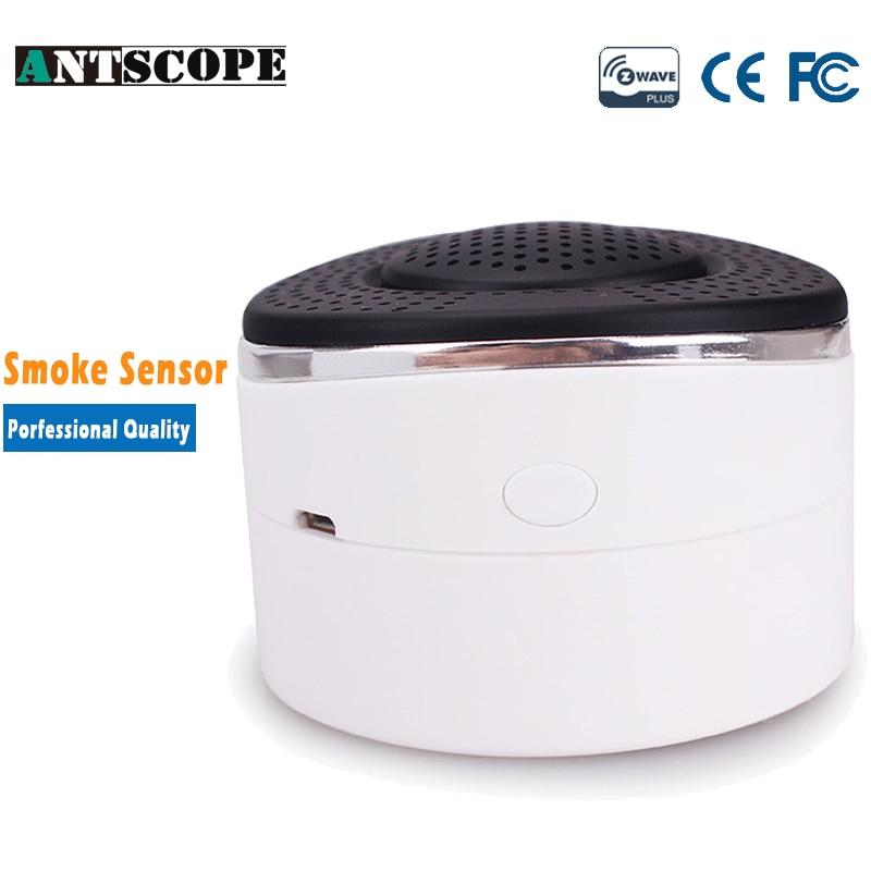 Antscope Zwave Smoke + Carbon Monoxide + Natural Liquefied Gas Leak Detector Sensor Alarm Z-wave Z wave Smart Home Automation<br>