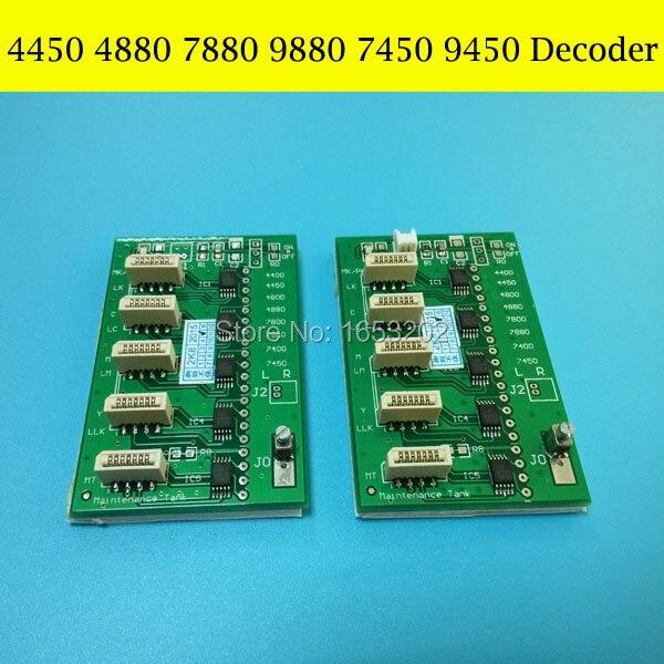 NEW Decoder For Epson Stylus PRO 9450 4880 7450 9880 Printer Chip Decoder Card<br>