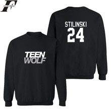 LUCKYFRIDAYF Men Autumn European Style fashion casual mens teen wolf sweatshirt man fleece hoodies sweatshirt teen wolf