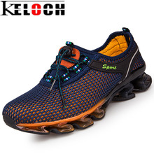 Keloch Men Mesh Breathable Running Shoes Lightweight Sneakers for Men Spring/Summer Sport Shoes Male Outdoor Walking Trainers