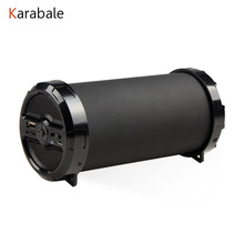 Karabale Big Bass Outdoor Wireless Bluetooth Speaker Sports Portable Subwoofer Bike music Speakers FM Radio TF USB Mp3 player(China)