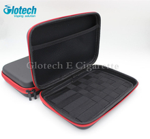 Glotech E cigarette zipper case bag for Electronic Cigarettes box mod RDA RBA vaporizer coil jig tools case bag