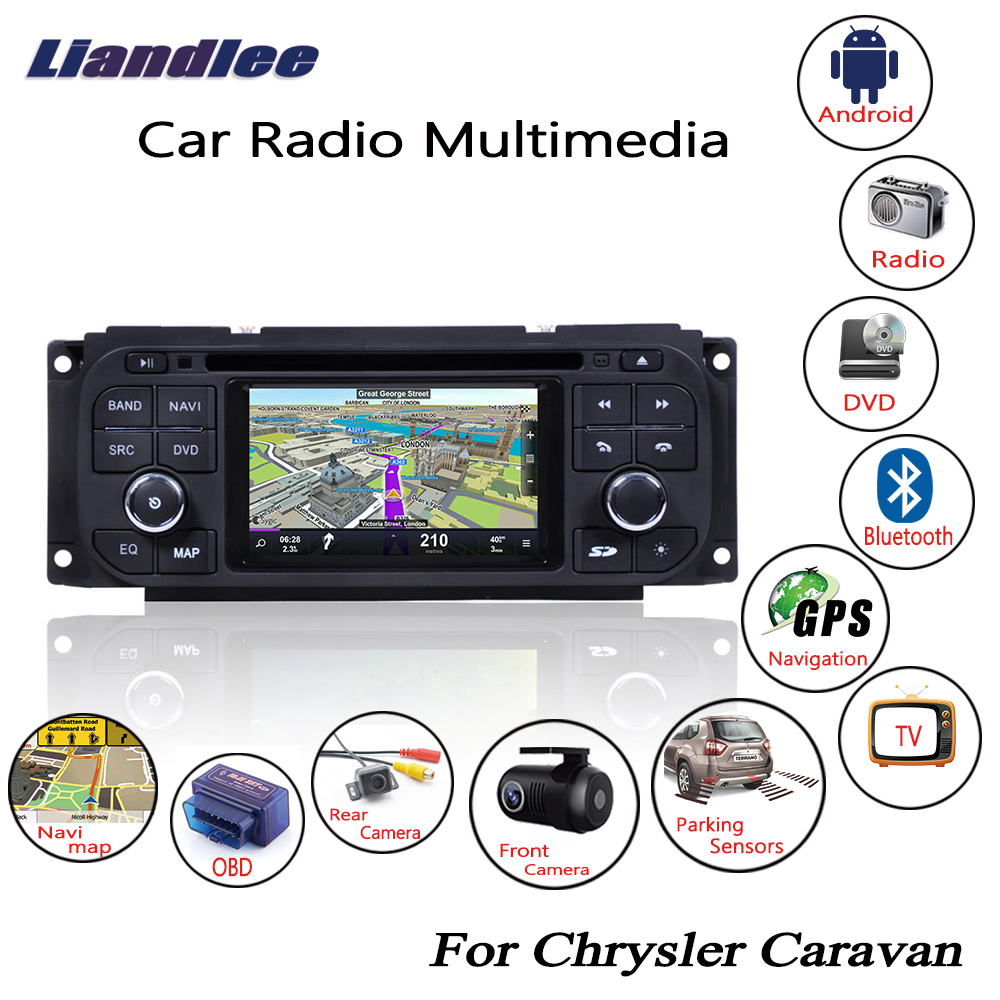 Liandlee For Chrysler Caravan 2001-2007 Android Car Radio CD DVD Player GPS Navi Navigation Maps Camera OBD TV Screen Multimedia1