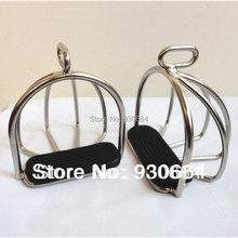 Stainless Steel  Safety Stirrups With Cage  Horse  Equipment Horse Product Knight Equipent (China)